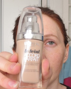 Makeup et test fond de teint