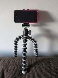 GorillaPod Hybrid avec iPhone