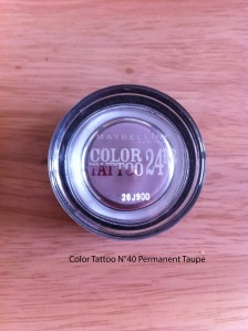IMG_4050 pot Color Tattoo N°40 Permanent Taupe