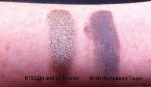 IMG_4084 swatch Color Tattoo On and on Bronze, Permanent Taupe
