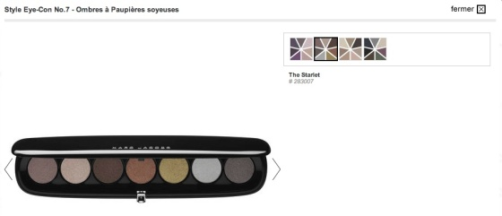 Marc Jacobs, Style Eye con No.7_The Starlet