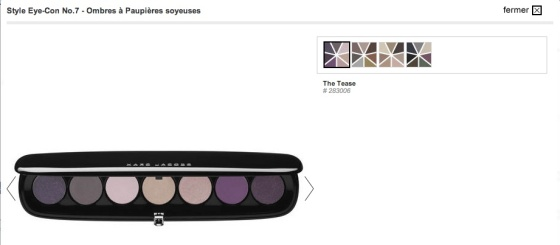 Marc Jacobs, Style Eye con No.7_The tease